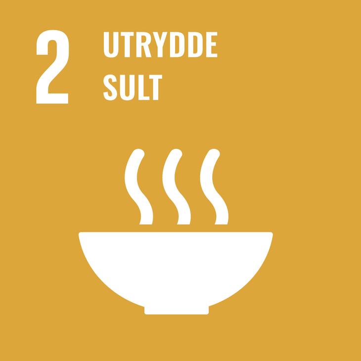 Oppnå matsikkerhet og bedre ernæring, og fremme    bærekraftig landbruk