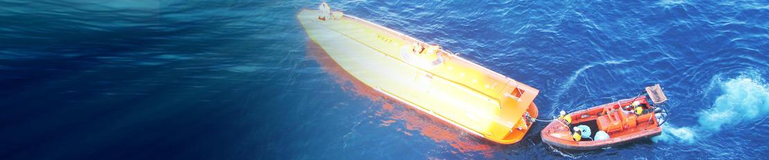 Driftsstøtte kraner og løfteinnredninger, turbiner, livbåter