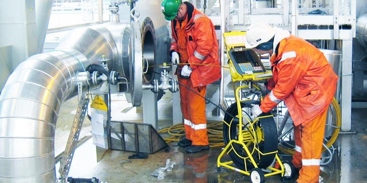Rørinspeksjon - Innvendig inspeksjon