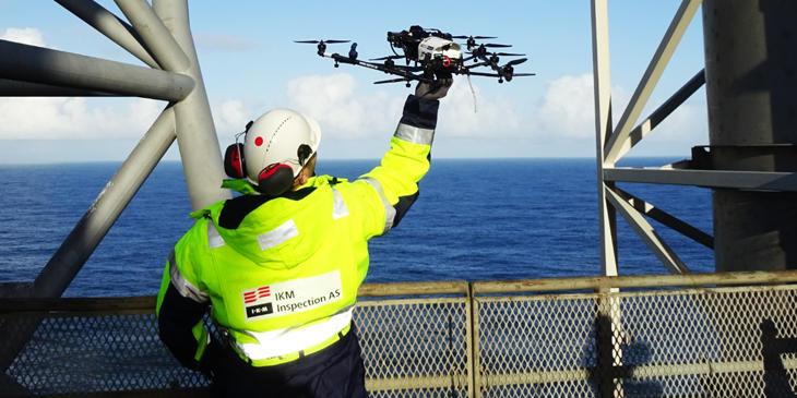 UAS droner