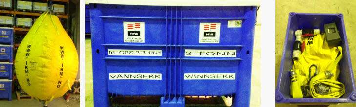Vannbager 1-10 tonn