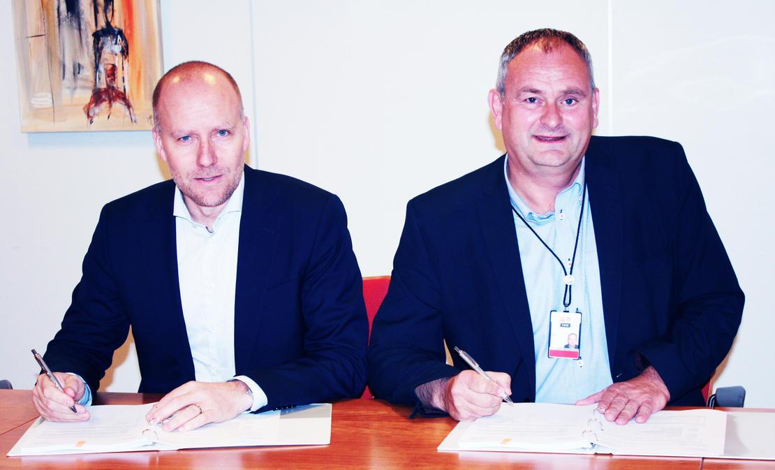 Kjetil Digre, Aker BP & Vidar Haugland, IKM Testing
