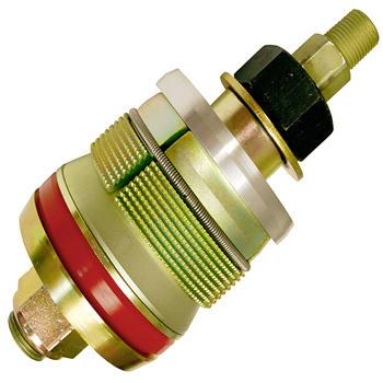 Elbow test plug