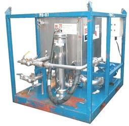Kompaktunit vann kjemikalier