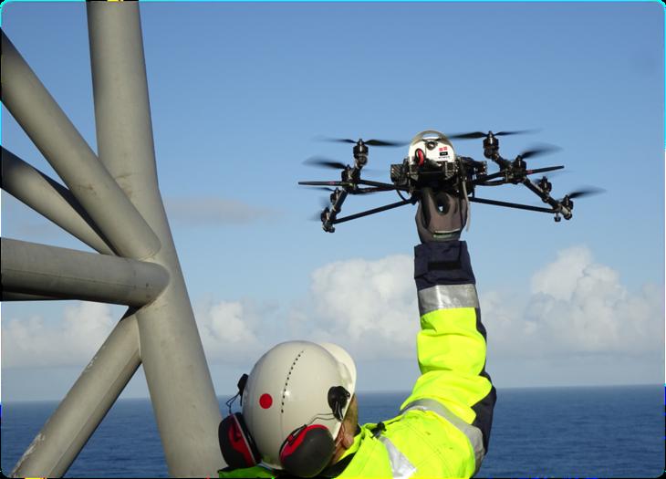 IKM sine inspeksjons dronr