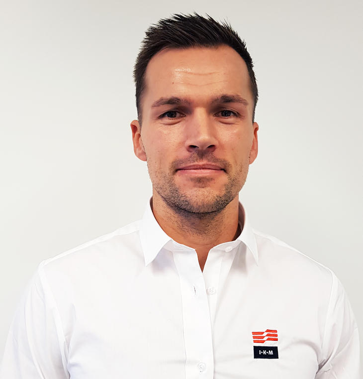 Carl Johan Almestad, daglig leder IKM Elektro